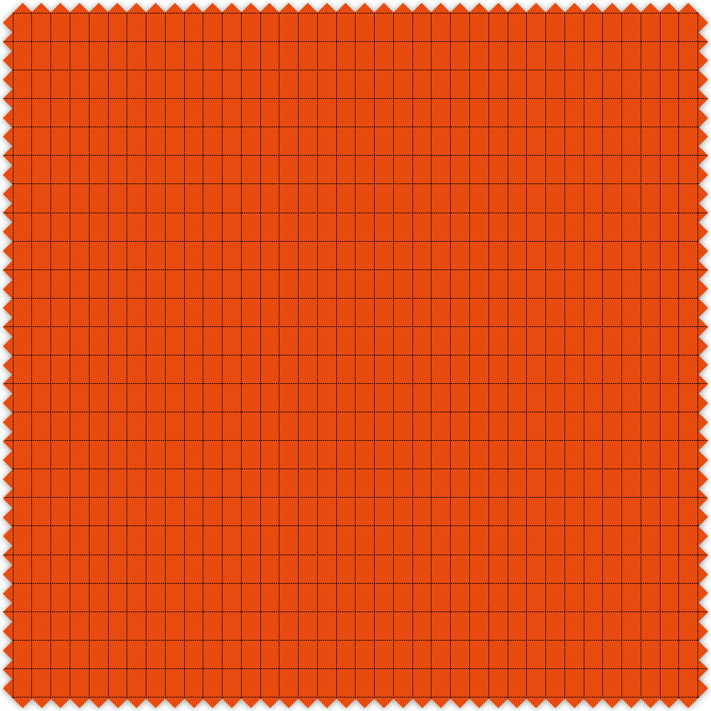 Swatch colour Flo Orange