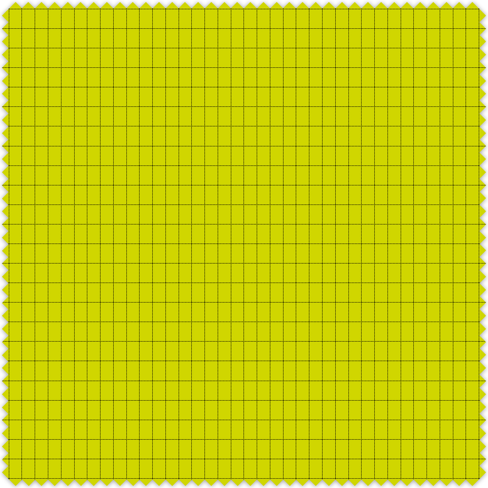 Swatch colour Flo Yellow